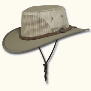 The Canvas Drover Hat by Barmah