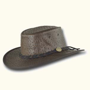 The Foldaway Ostrich Hat by Barmah