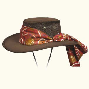 The Ladies Suede Cooler Hat by Barmah