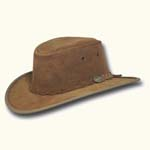 Hickory Foldaway Suede Hat