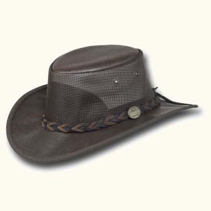 Faux Leather Cooler Hat by Barmah