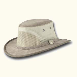 The Narrow Brim Suede Cooler Hat by Barmah